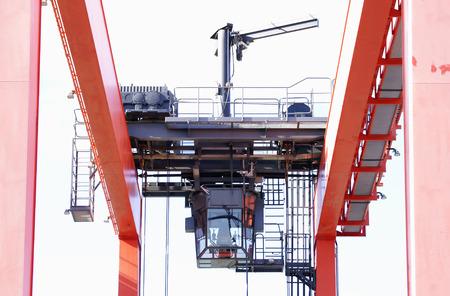 Driving cabin of a gantry crane Barcelona
