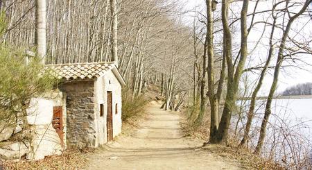 fe: Way on Lake Santa Fe del Montseny, Barcelona