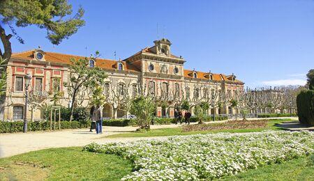 urbanism: Parliament of Catalonia in Barcelona