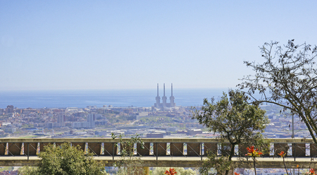 baro: Overview of Barcelona from Torre Bar