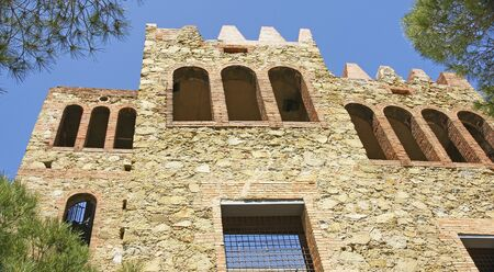 baro: Torre Baro reconstructed castle, Barcelona Editorial