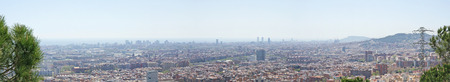 baro: Overview of Barcelona from Torre Baro