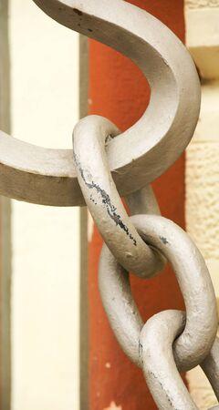 garraf: Detail of door of the Buddhist monastery in El Garraf, Barcelona Stock Photo