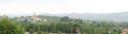garraf: Buddhist monastery in the Natural Park of El Garraf, Barcelona