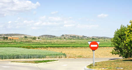 catalunya: Landscape of Lleida, Catalunya, Spain