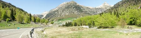 aran: Aran Valley in Lleida, Spain