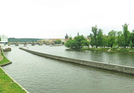 praga: Praga channels, Czech Republic Stock Photo
