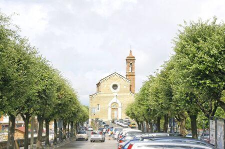 montepulciano: church of San Quirico dOrcia, Montepulciano, Tuscany, Italy Editorial