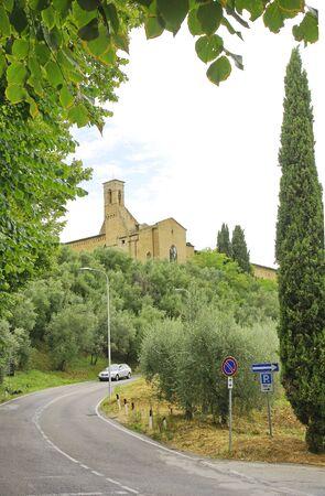 montepulciano: View of Montepulciano, Tuscany, Italy Editorial