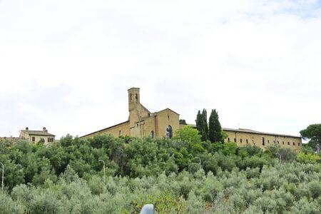 montepulciano: View of Montepulciano Tuscany, Italy Stock Photo