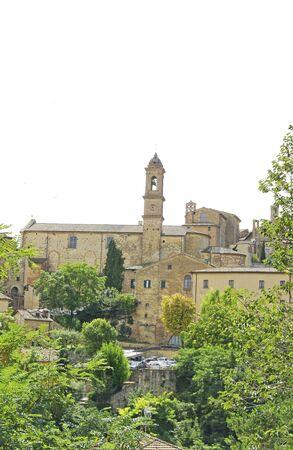 montepulciano: View of Montepulciano, Tuscany, Italy Stock Photo