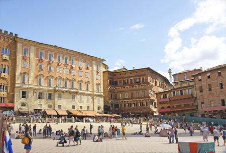 Piazza di Siena, Tuscany, Italy Editorial