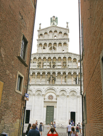 Cathedral of Lucca, Tuscany, Italy