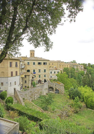 Overview of San Gimignano, Tuscany, Italy