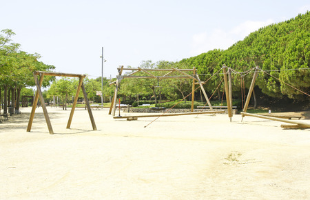 Playground in Castelldefels, Barcelona