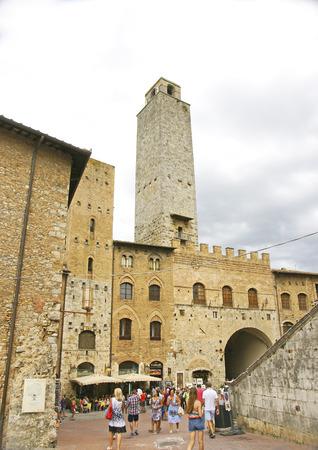 View of San Gimignano, Tuscany, Italy Editorial