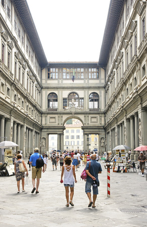 view of Florence, Tuscany, Italy Editorial