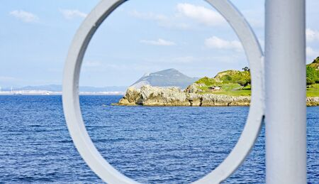 Seascape of Catro Urdiales, Cantabria, Spain