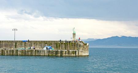 port of Lastres, Asturias, Principality of Asturias, Spain