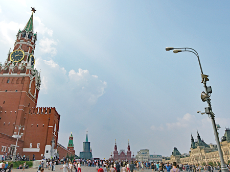 View of the Red Square in Moscow, Russian Federation
