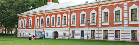 The Peter and Paul Fortress, St. Petersburg, Russian Federation 報道画像