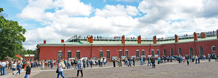 The Peter and Paul Fortress, St. Petersburg, Russian Federation Editorial