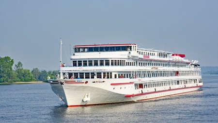 Volga river cruise, Russian Federation