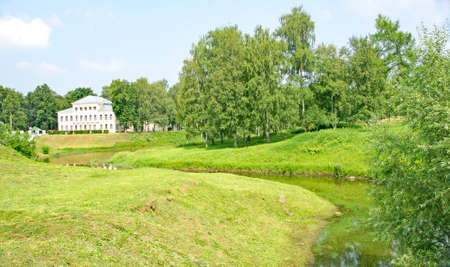 Typical construction in gardens in Uglich, Russian Federation
