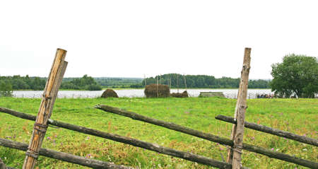Overview of Mandrogi, Russian Federation Редакционное
