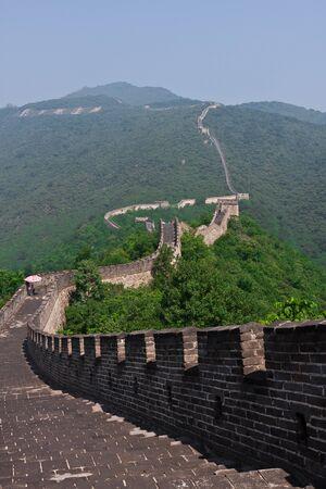 Great chinese Wall at Mutianyu Stock Photo - 10263235