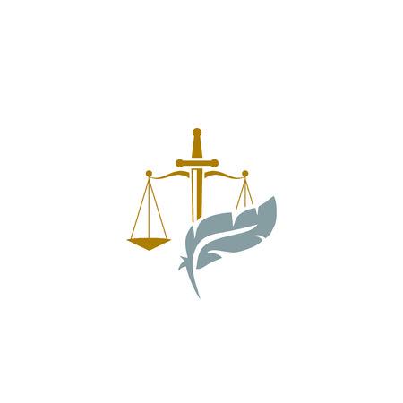 law firm Illustration