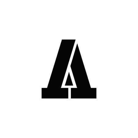 A letter triangle