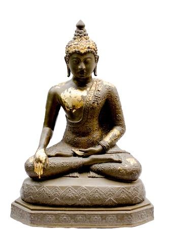 Buddha image at Sukhothai  Stock Photo