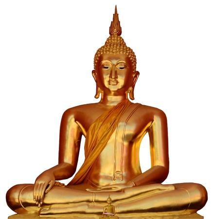 Thai Buddha Golden Statue  Buddha Statue in Thailand  photo