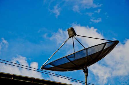 Satellite dish  photo