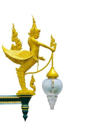 Kinaree lamp statue in Thailand