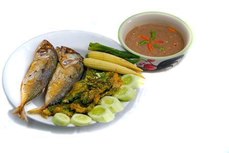 Elmo Gold Fish, a dish of Thailand  Stock Photo - 30533266