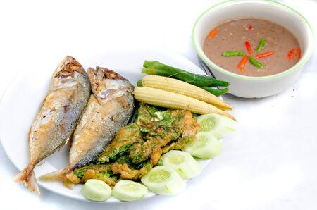 Elmo Gold Fish, a dish of Thailand  Stock Photo - 30533267