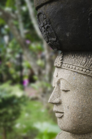 Censer placed on the statue of Buddha in Thailand.