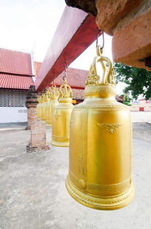 Old temple bell in Thailand