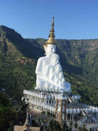 Wat Pha hidden glass in Thailand.
