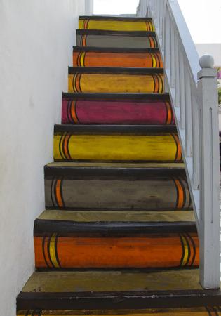 Ladder-like spine book