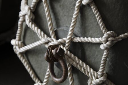 holdfast: Steel floating buoy rope