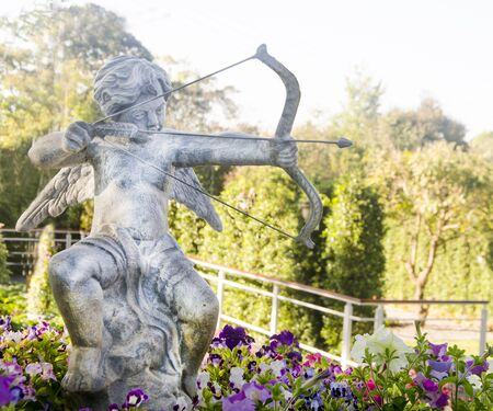 Statue of Cupid angel  in Thailand