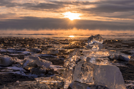 Toyokoro town jewelry ice