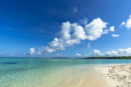 Beautiful coral reefs of Taketomi island