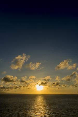 Ishigaki Island sunset Stok Fotoğraf