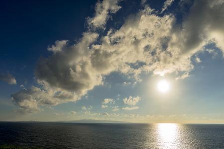 Ishigaki Island sunset 写真素材