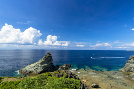Sea of the coral reefs of Ishigaki Island 写真素材