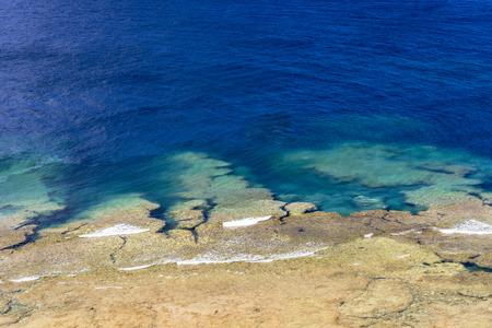 Sea of the coral reefs of Ishigaki Island 写真素材
